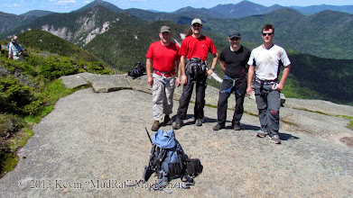Photo: Atop the summit at 11:00 a.m.