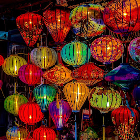 Vietnam - Hoi An Lantern Shop by Rick Pelletier - Novices Only Street & Candid
