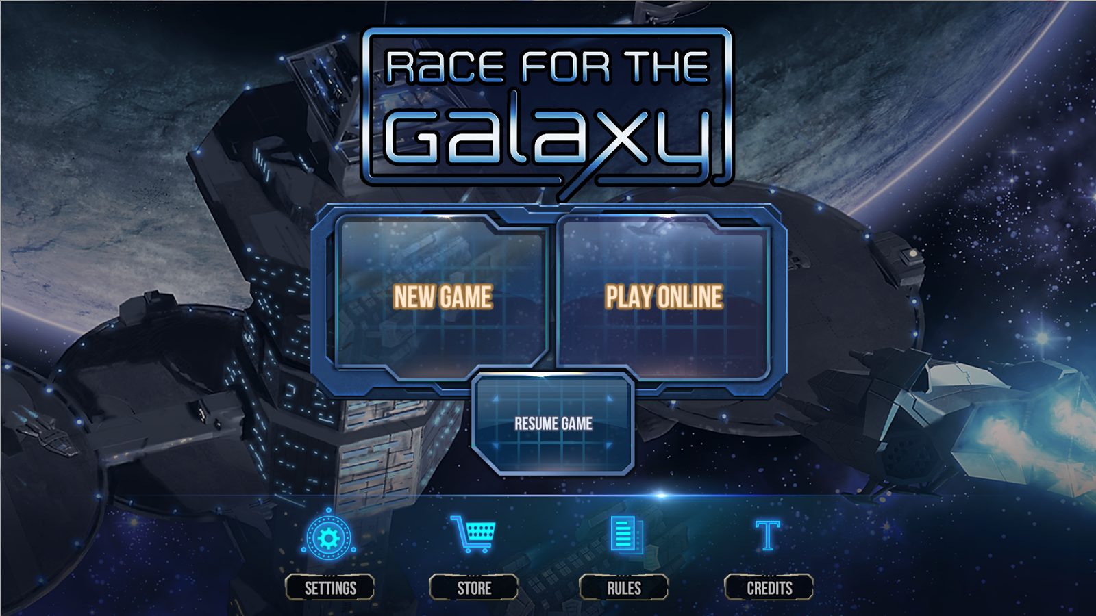 Race for the Galaxy- screenshot
