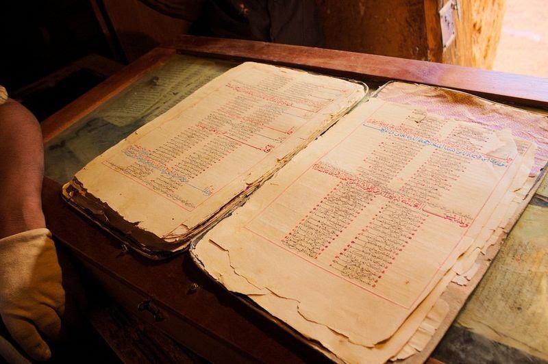 As bibliotecas perdidas de Chinguetti