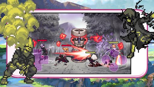 Code Triche Ninja 3v3 - legend fight APK MOD (Astuce) screenshots 1