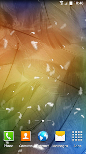 Feather Live Wallpaper screenshot 4