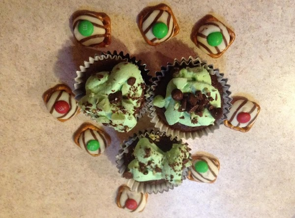 Decadent Andes Mint Stuffed Cupcakes Recipe