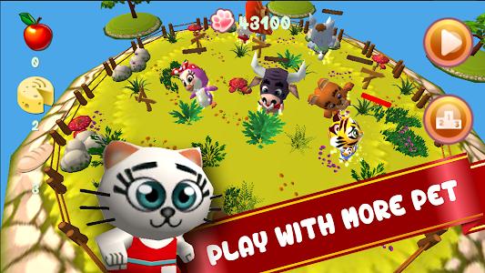 Baby Pet Run: Jungle Adventure screenshot 0