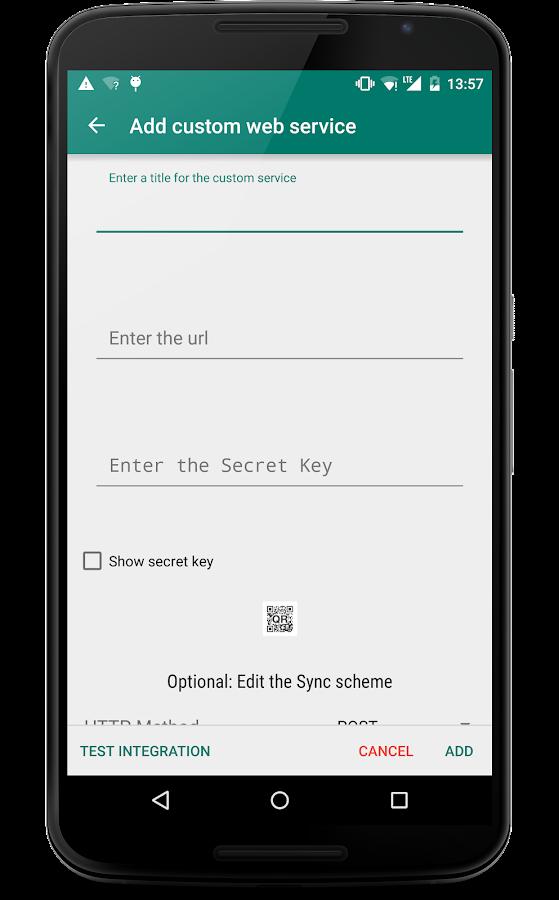 SMSSync SMS Gateway- screenshot