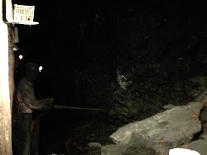 Photo: A smaller space allows a miner to feel everything around them. A small space may seem cramped to us, but our guide assured us that miners felt safer in these spaces and preferred them.
