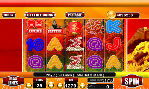 Lucky 88 Slot Machine