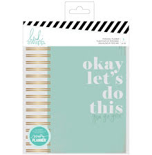 Heidi Swapp Memory Planner Color Fresh Personal 5.6x8 - Spiral Lets Do This
