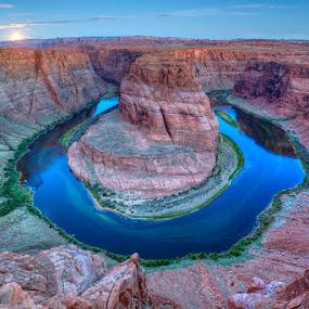 Desert Beauty by Ken Smith - Landscapes Travel ( horseshoe bend, landscape )