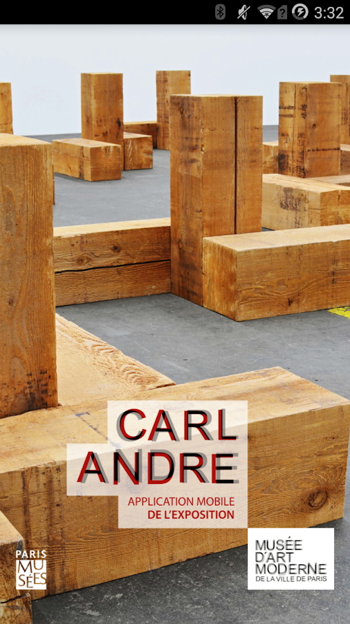 Carl Andre- screenshot