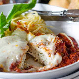 Stuffed Chicken Parmigiana