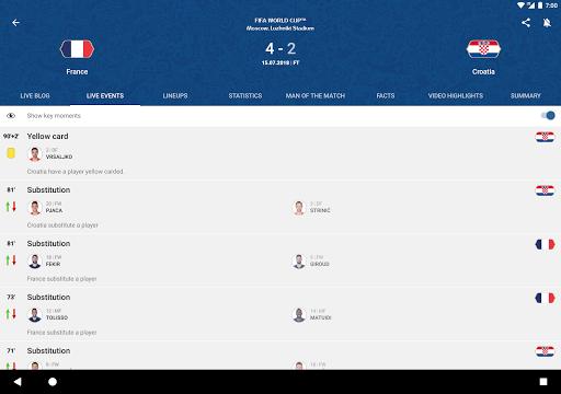 FIFA - Tournaments, Soccer News & Live Scores 4.3.72 screenshots 9