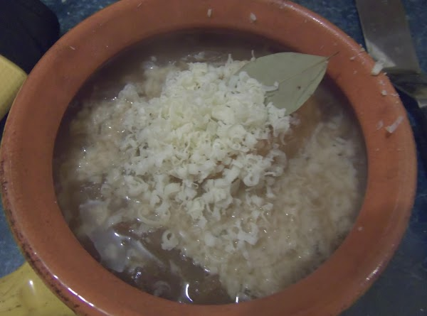 Turn on the broiler. In an oven safe bowl place some cheese and add...
