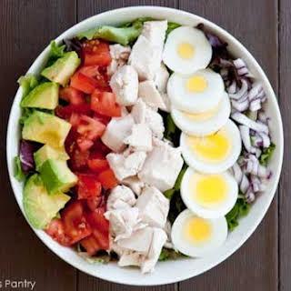 Clean Eating Cobb Salad.