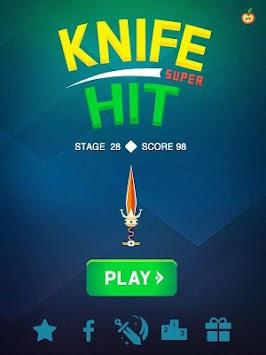 Super Knife Hit Pro apk screenshot