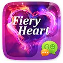 GO SMS PRO FIERY HEART THEME icon