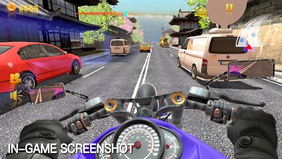 Traffic Rider 3D - náhled
