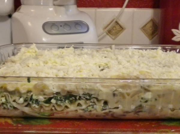 Spinach, Artichoke And Mushroom Lasagna Recipe