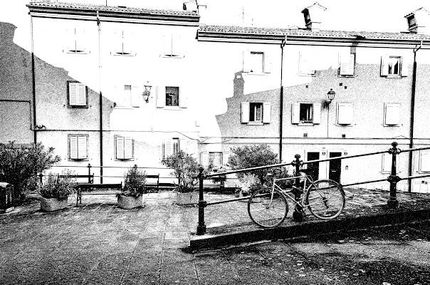 Uno scorcio del vecchio borgo della Trieste antica
