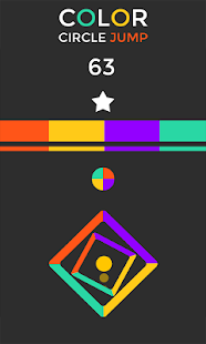 Color Circle jump Free- screenshot thumbnail