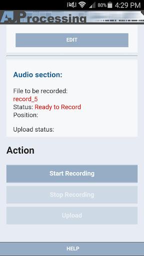 AJ Processing Recorder