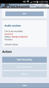 AJP Transcription Recorder- screenshot thumbnail