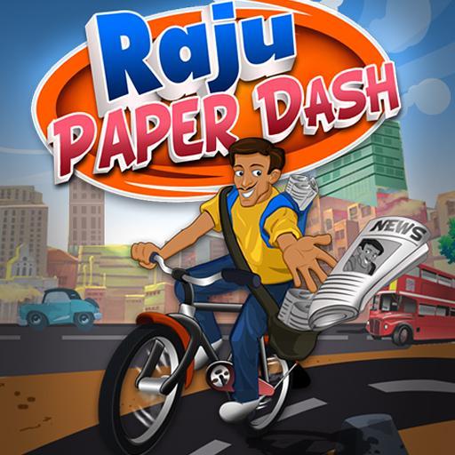 Paper Dash Racing Game