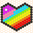 Mosaic Puzzles Art Game - Block Beads & Hex Puzzle icon
