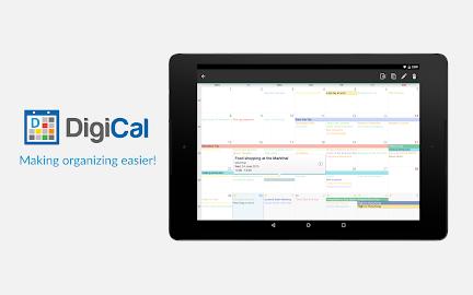 DigiCal Calendar Screenshot 1
