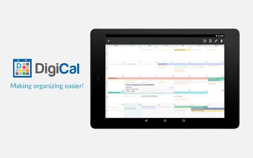 DigiCal Calendar- screenshot thumbnail