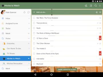 Wunderlist: To-Do List & Tasks Screenshot 7