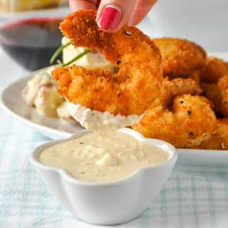 Parmesan Shrimp or Scallops.