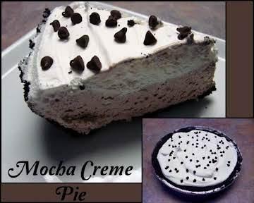 Mocha Creme Pie