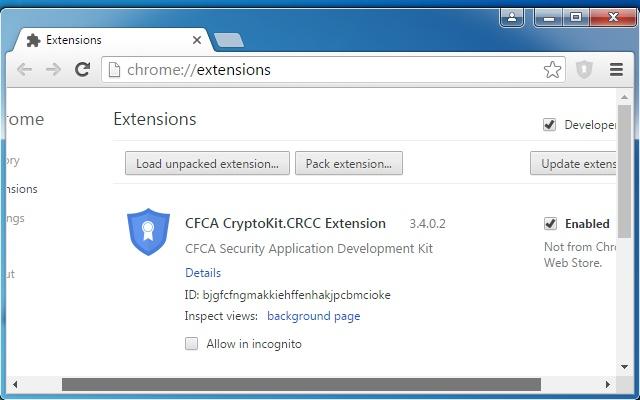 CFCA CryptoKit.CRCC Extension