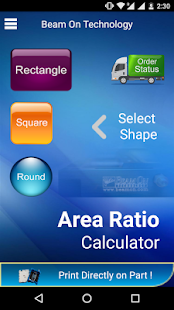 Area Ratio Calculator- screenshot thumbnail