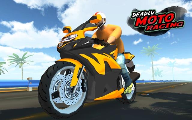 3D Deadly Moto Racing