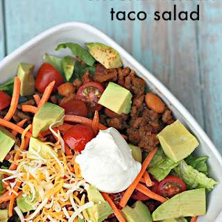 Ground Turkey Taco Salad.