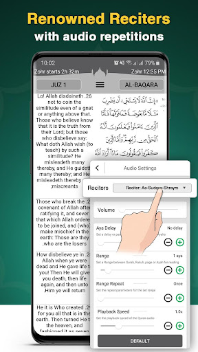 Quran Majeed - u0627u0644u0642u0631u0622u0646 u0627u0644u0645u062cu064au062f 4.1-4 screenshots 2
