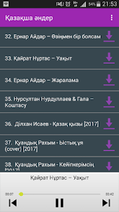 Қазақша Әндер Казахские песни - náhled