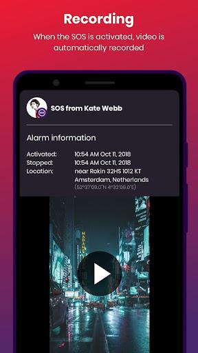 bSafe - Personal Safety App 3.7.52 screenshots 2