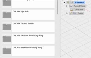 Autodesk Fusion 360 Библиотеки стандартных компонентов
