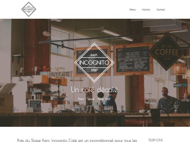 create restaurant website