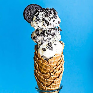 No Churn Cookies and Cream Ice Cream.