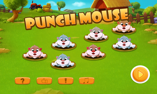 Punch Mouse In Farm