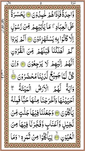 Surah Yaseen - Arabic Reading  screenshots 4