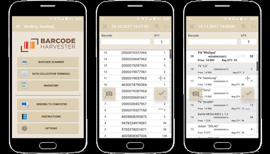 Barcode Harvester - náhled