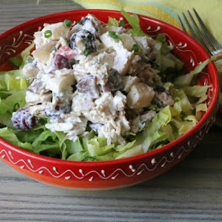 Greek Yogurt Turkey Salad.