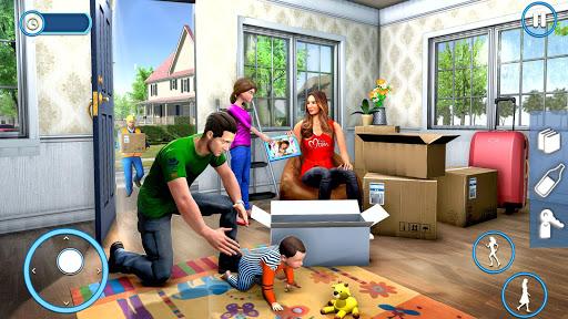 New Family House Builder Happy Family Simulator screenshots 9