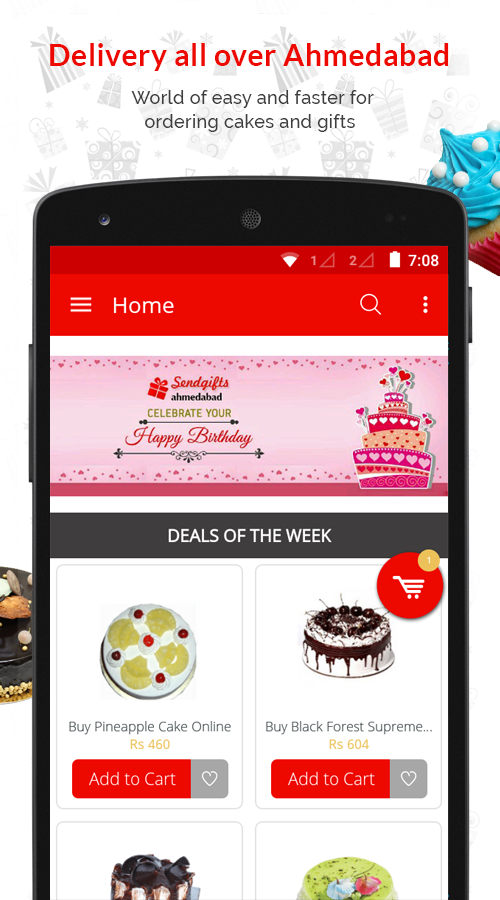 SendGiftsAhmedabad- screenshot