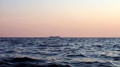 Photo: Nave porta container fotografata da Saturo (Leporano Marina)